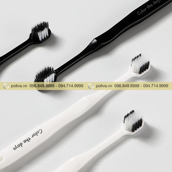 Sự kết hợp các màu sắc tương phản đen - trắng tạo nên sự nổi bật và độc đáo