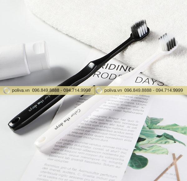 Bàn chải đánh răng sử dụng một lần được nhiều khách sạn lựa chọn trong bộ đồ amenities
