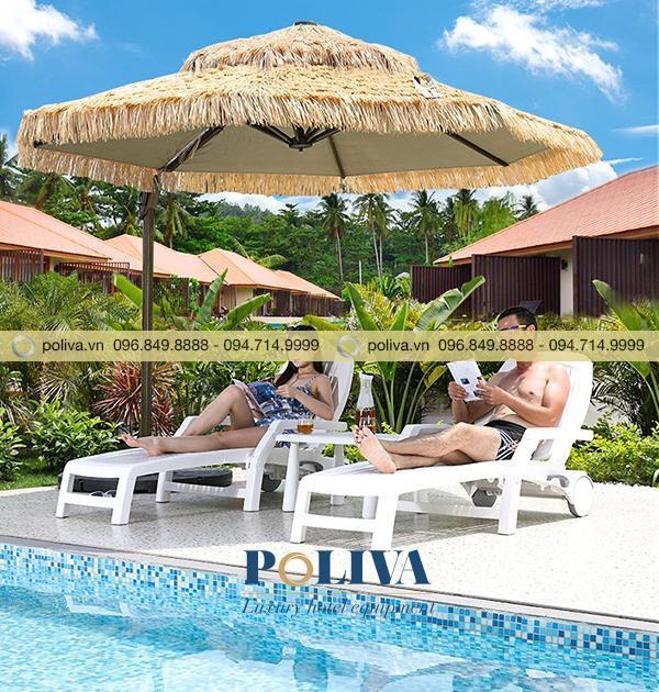 Ghế hồ bơi ngày càng được sử dụng nhiều và được ưa chuộng bởi những ưu điểm của chúng