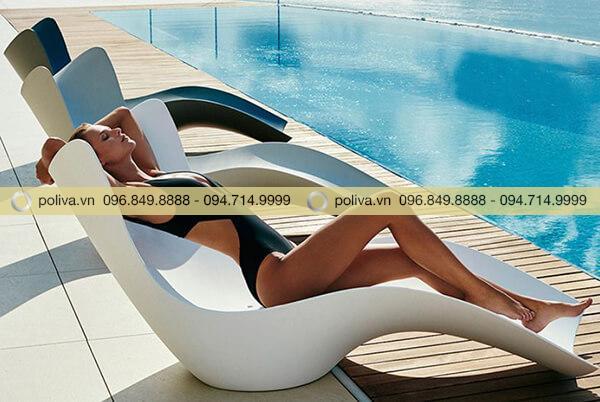 Ghế tắm nắng nhập khẩu