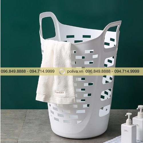 Giỏ đựng đồ nhà tắm bằng nhựa