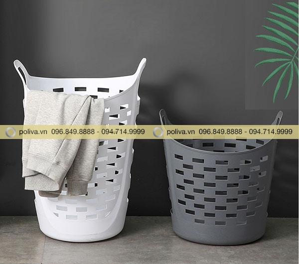 Hình ảnh giỏ đựng đồ phòng tắm được làm từ nhựa cao cấp