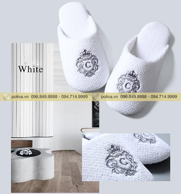 Màu trắng cao cấp, sang trọng và đặc trưng trong nhiều khách sạn