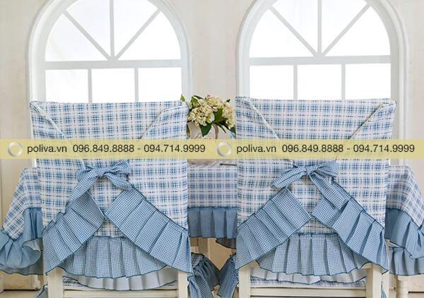 Khăn trải bàn áo ghế