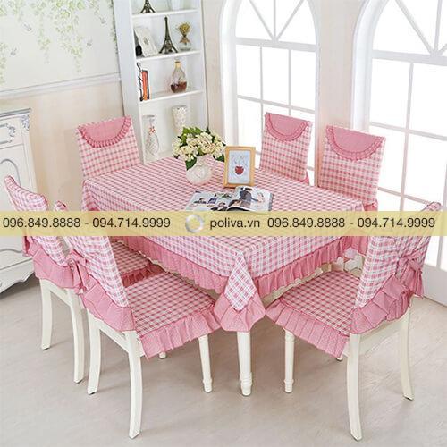 Khăn trải bàn, áo ghế nhà hàng