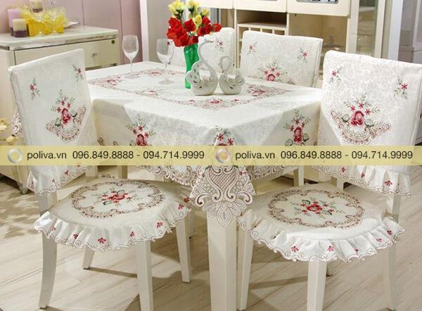 Khăn trải bàn phòng khách