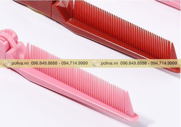 Răng lược chải tóc không sắc nhọn