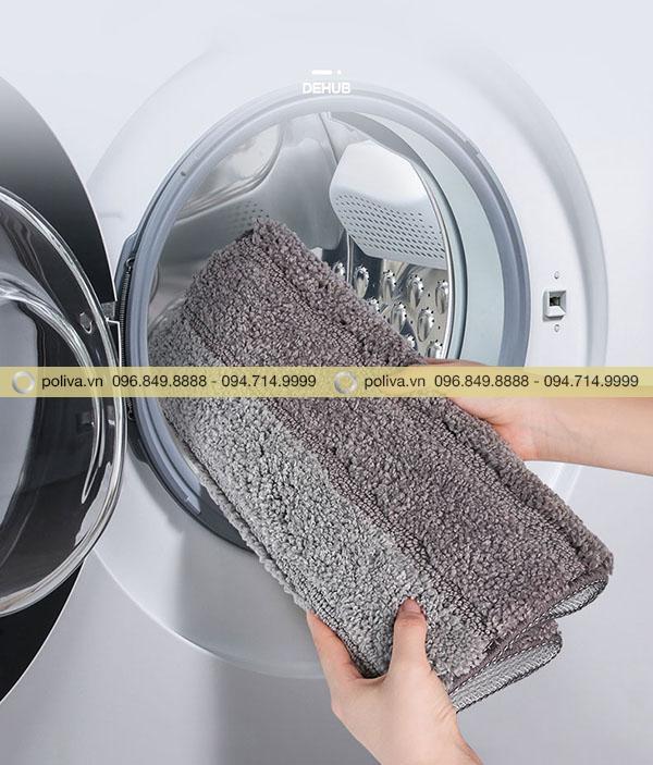 Sản phẩm có thể giặt bằng máy nhanh chóng