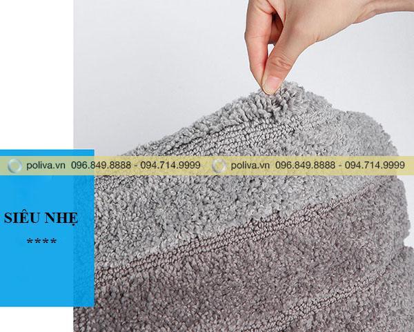 Sản phẩm thảm chùi chân được thiết kế siêu nhẹ