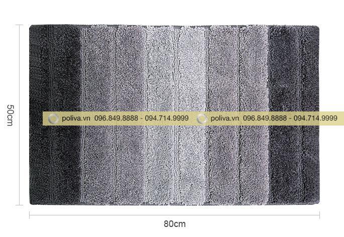 Thông tin kích thước tấm thảm chùi chân thấm nước