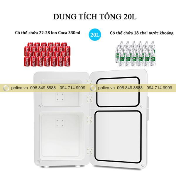 Tủ lạnh mini 20L đáp ứng tốt nhu cầu khách hàng