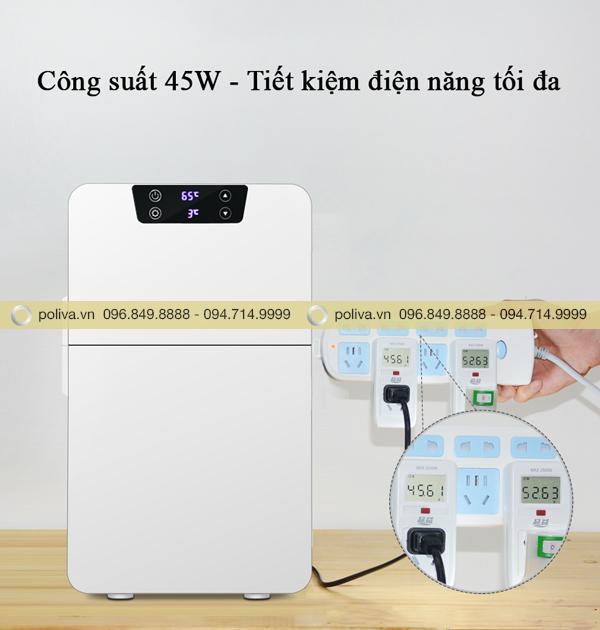 Cống suất 45W giúp tiết kiệm điện năng tối đa, không gây lãng phí năng lượng