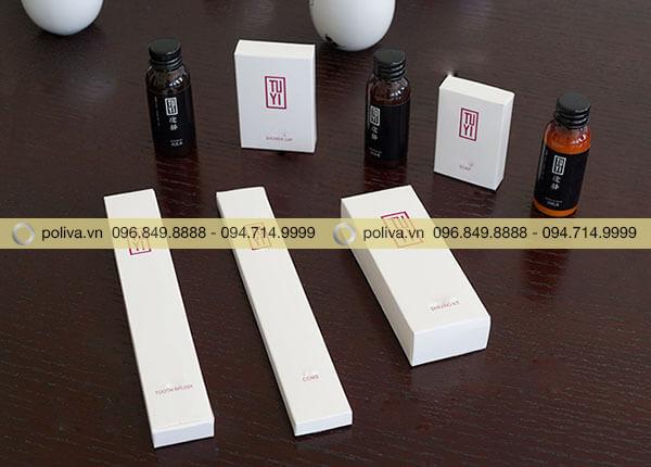 Xà bông khách sạn hộp giấy trong bộ sản phẩm amenities