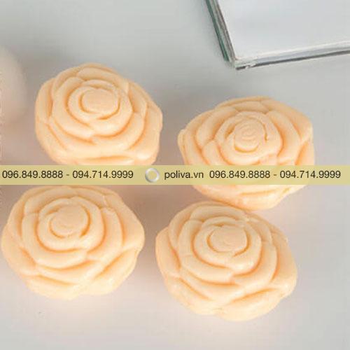 Xà bông khách sạn hình hoa hồng