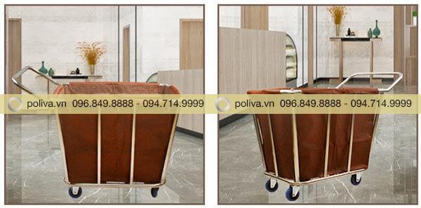 Poliva chuyên cung cấp các loại xe dọn phòng giặt là chất lượng cao