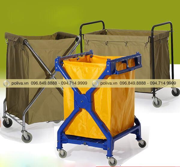 Poliva chuyên cung cấp xe giặt là khách sạn với đa dạng mẫu mã, kiểu dáng