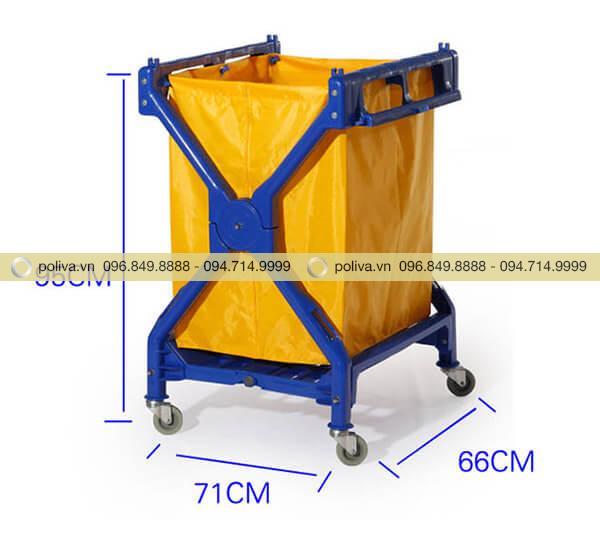 Xe giặt là chữ X khung kim loại phun sơn tĩnh điện