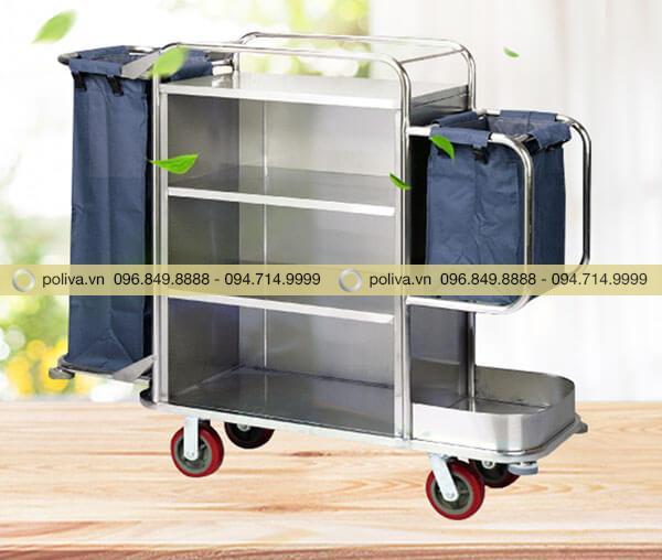 Poliva - đơn vị chuyên cung cấp các loại xe buồng phòng dùng trong khách sạn