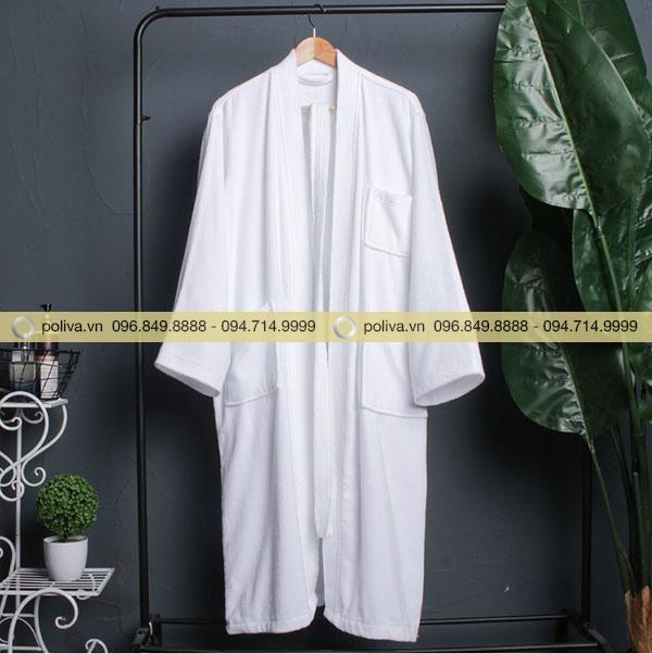 Hình ảnh áo choàng tắm nam nữ do Poliva cung cấp