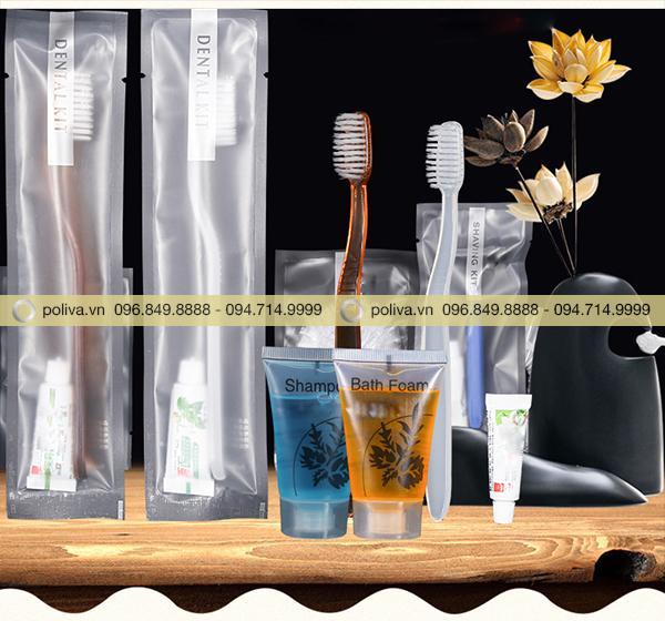 Hình ảnh thực tế sản phẩm bao bì đựng đồ bằng nylon bóng