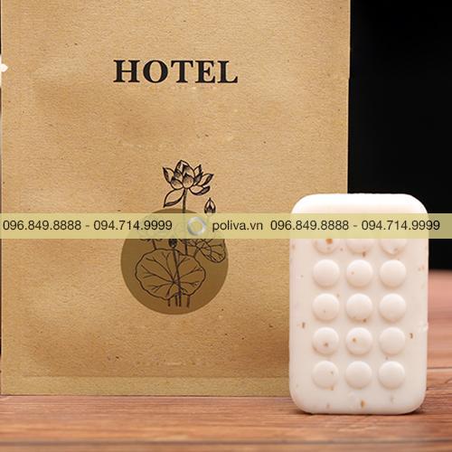 Bao bì bộ amenities giấy Kraft