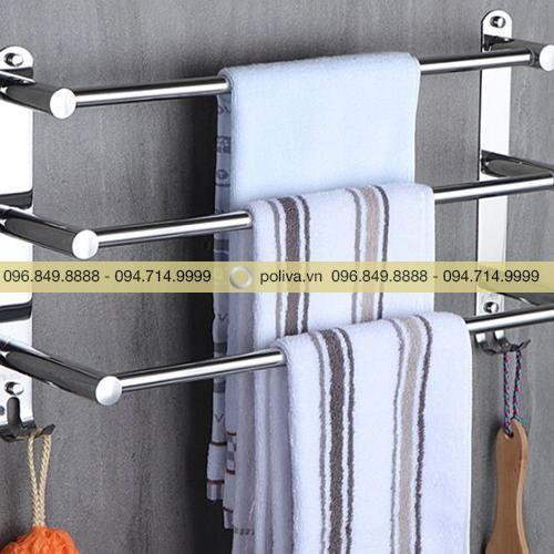 Giá treo khăn 3 tầng
