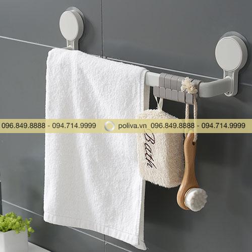 Giá treo khăn hút chân không