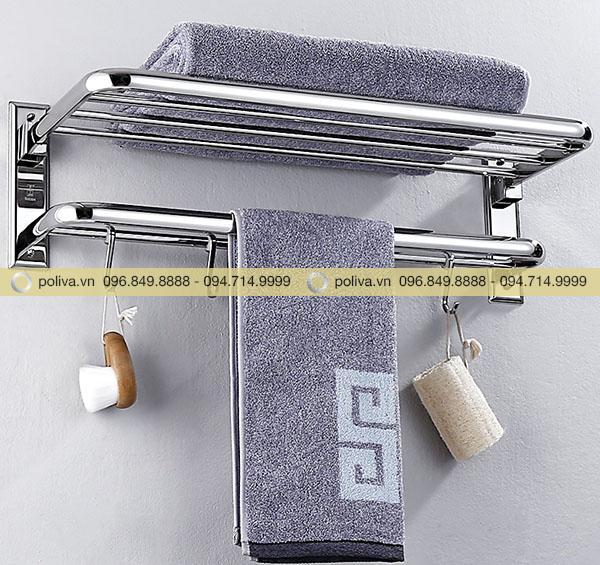 Hình ảnh giá treo khăn do Poliva cung cấp