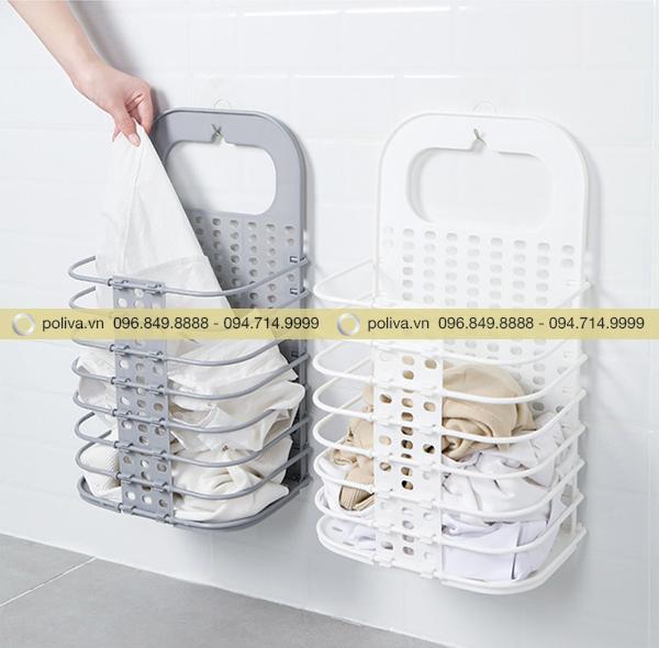Hình ảnh sản phẩm giỏ đựng quần áo bẩn phòng tắm khách sạn