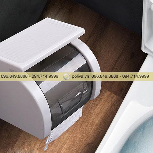 Hộp đựng giấy vệ sinh nhựa
