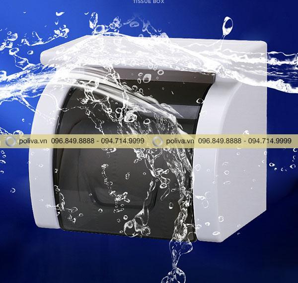 Sở hữu hộp đựng giấy vệ sinh, bạn sẽ không phải lo giấy bị ẩm ướt nữa