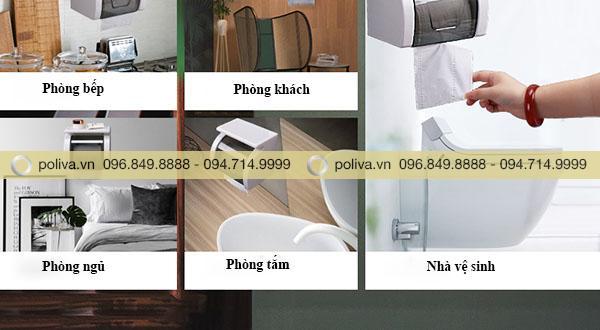 Sản phẩm được sử dụng ở nhiều không gian khác nhau