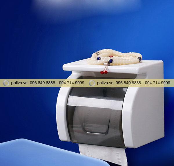 Hình ảnh hộp đựng giấy vệ sinh do Poliva cung cấp
