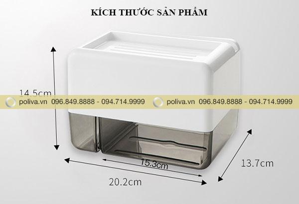 Thông tin kích thước hộp đựng giấy vệ sinh