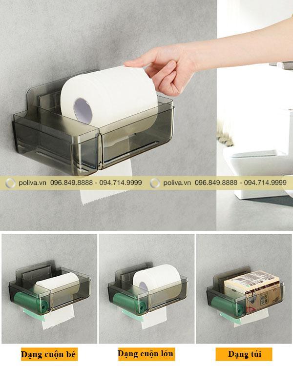Lõi đựng của hộp có thể để được nhiều loại giấy