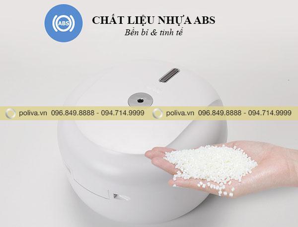 Thiết kế được làm từ nhựa ABS cao cấp