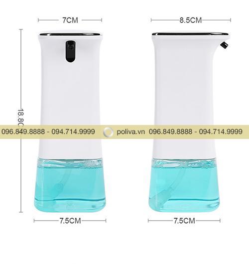 Bình chứa nước rửa tay cảm ứng