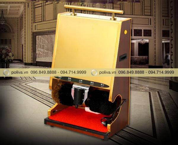 Máy đánh giày tự động thường được đặt trong các sảnh khách sạn