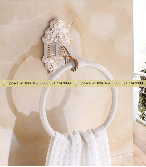 Vòng treo khăn tắm gắn tường mang tính thẩm mỹ cao