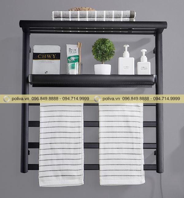 Hình ảnh giá treo khăn phòng tắm tiện dụng do Poliva cung cấp