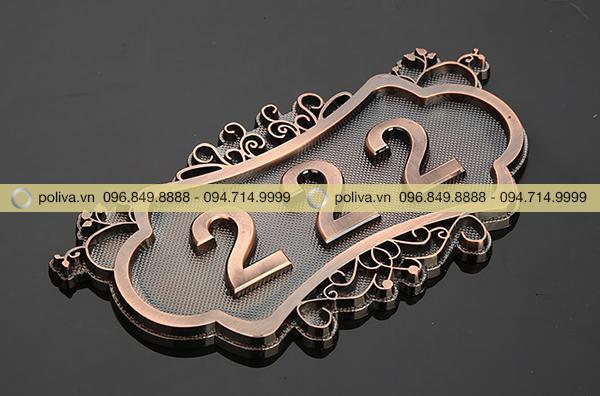 Thiết bị được làm từ chất liệu đồng cao cấp