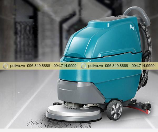 Máy chà sàn nhà xưởng là thiết bị dọn vệ sinh công nghệ tiên tiến
