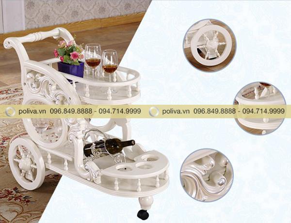 Cấu tạo chi tiết của sản phẩm xe đẩy