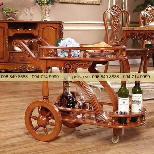 Xe đẩy rượu trà