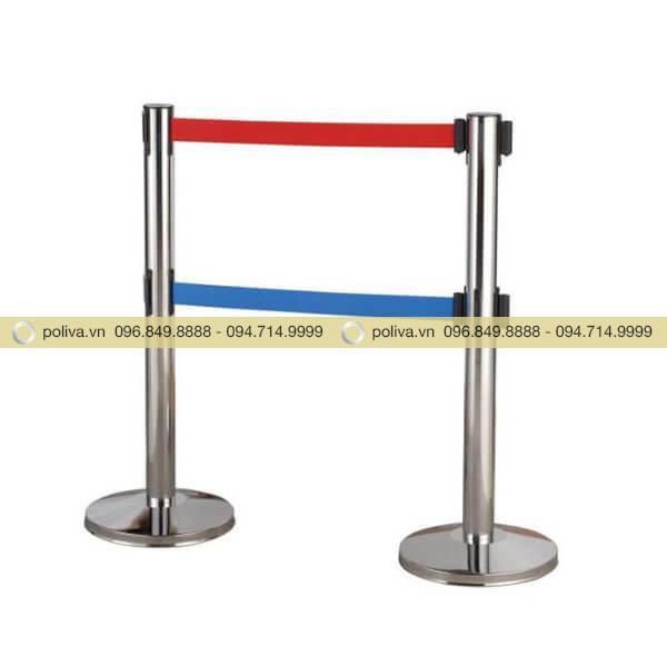 Cột chắn inox sân bay