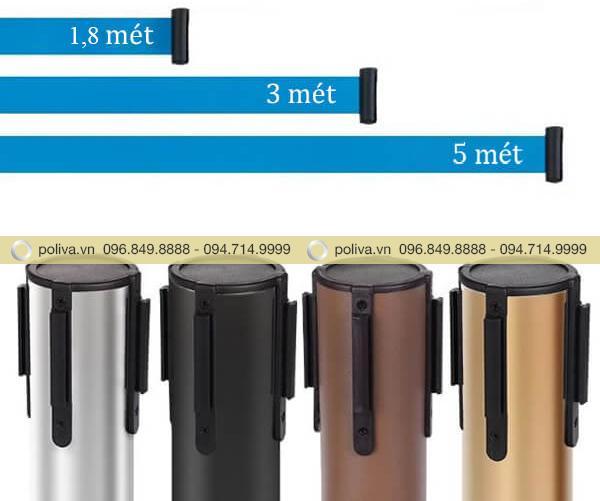 Đầu cột dạng dây kéo thông minh có chiều dài dao động 1,8-5 m