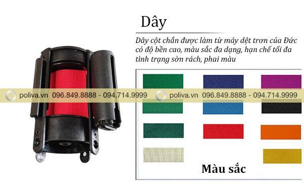 Bộ sưu tập màu sắc đa dạng cho bạn thêm nhiều sự lựa chọn