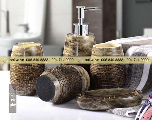 Hình ảnh thực tế của bộ đồ dùng nhà tắm