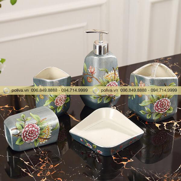 Poliva - địa chỉ cung cấp bộ bộ dụng cụ nhà tắm bằng gốm sứ