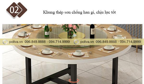 Khung bàn từ thép phun sơn chống han gỉ